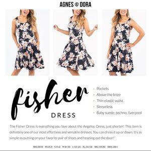 EUC Agnes and Dora Fisher Dress